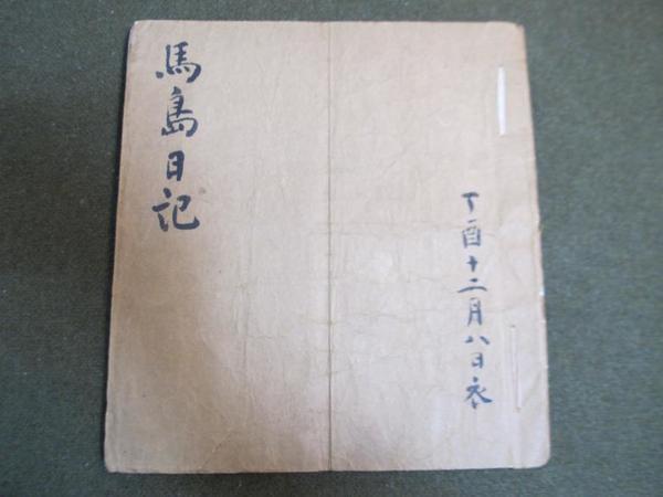 1906년 병오 홍주의병 당시 의병지도부에 있던 유준근 선생이 유배지 대마도에서 작성한 '마도일기(馬島日記)'. 홍성군 제공